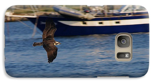 Galaxy Case featuring the photograph Osprey On The Hunt by Greg Graham