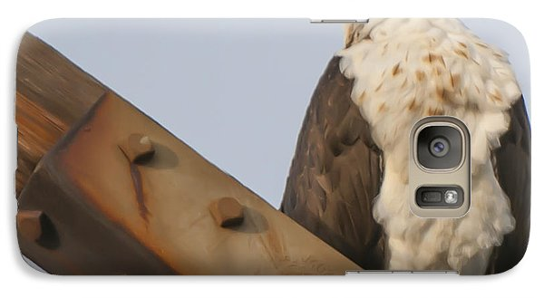 Galaxy Case featuring the photograph Osprey -seahawk by Dale Powell