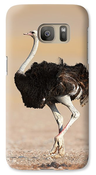 Ostrich Galaxy S7 Case by Johan Swanepoel
