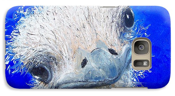 Ostrich Painting 'waldo' By Jan Matson Galaxy S7 Case