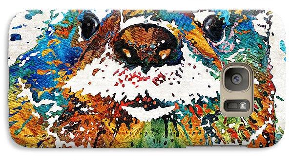 Otter Art - Ottertude - By Sharon Cummings Galaxy S7 Case
