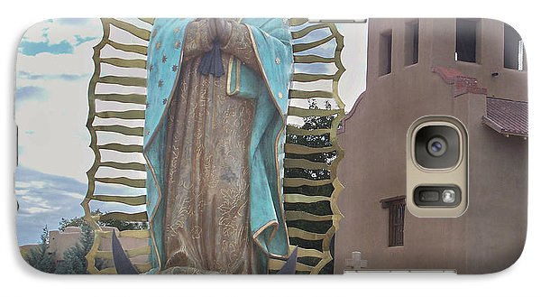Galaxy Case featuring the photograph Our Lady Of Guadalupe by Sylvia Thornton