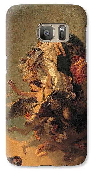 Our Lady Of Mount Carmel  Galaxy Case by Tiepolo Giambattista