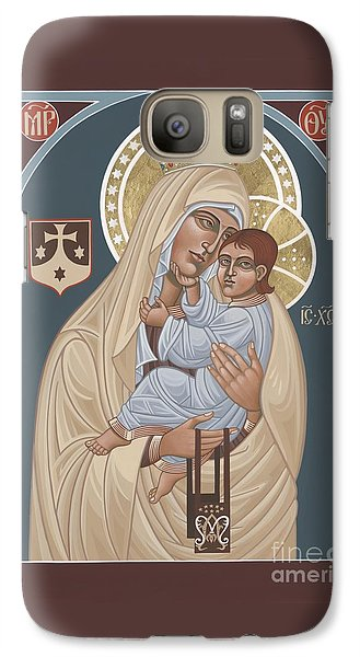 Galaxy Case featuring the painting Our Lady Of Mt. Carmel 255 by William Hart McNichols