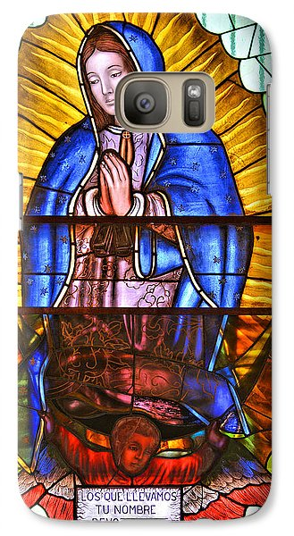 Galaxy Case featuring the photograph Our Lady Of Peace by Christine Till