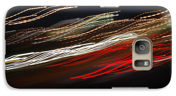 Galaxy Case featuring the photograph Out Of Control by Maggy Marsh