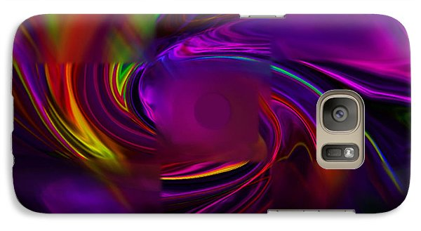 Galaxy Case featuring the digital art Out Of Focus by Gayle Price Thomas