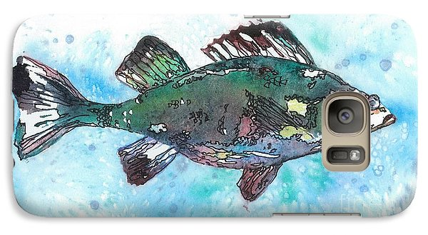 Galaxy Case featuring the painting Out Of School by Barbara Jewell