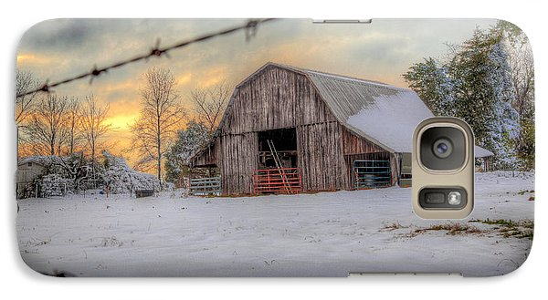 Galaxy Case featuring the photograph Out On The Farm by Micah Goff
