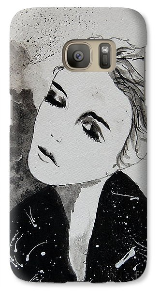 Galaxy Case featuring the painting Out On The Town by Tamyra Crossley