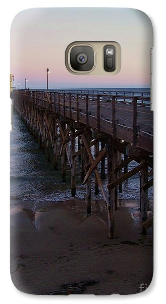 Galaxy Case featuring the photograph Out There by Christine Drake