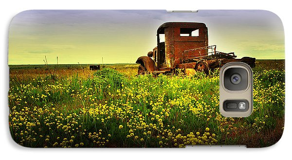 Galaxy Case featuring the photograph Out To Pasture by Sonya Lang