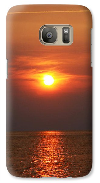 Galaxy Case featuring the photograph Outer Banks Sunset by Tony Cooper