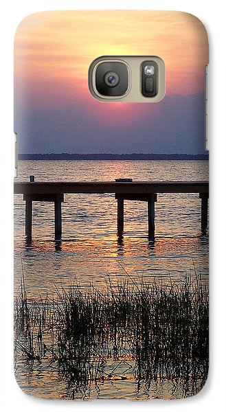 Galaxy Case featuring the photograph Outerbanks Nc Sunset by Sandi OReilly