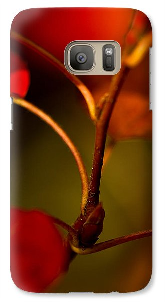 Galaxy Case featuring the photograph Outgrowth by Haren Images- Kriss Haren