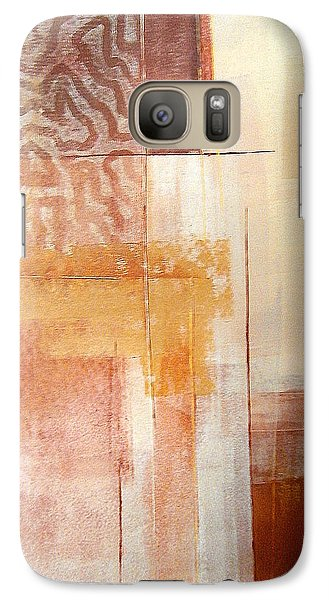 Galaxy Case featuring the painting Outside The Box by Buck Buchheister