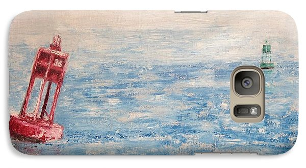 Galaxy Case featuring the painting Outward Bound by Stan Tenney