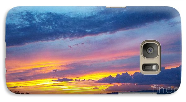 Galaxy Case featuring the photograph Outwest by Polly Anna