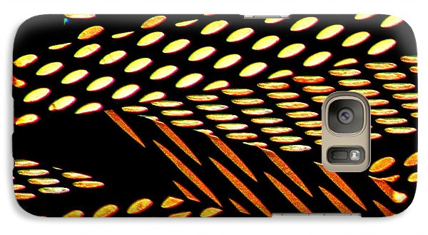 Galaxy Case featuring the photograph Ovals Of Light by Bill Kesler