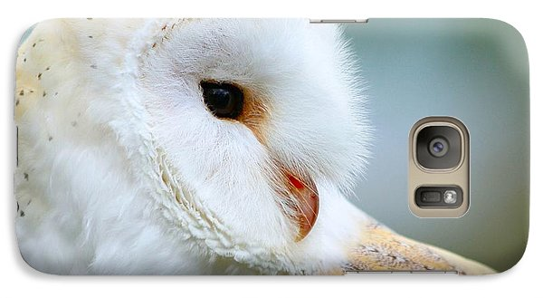Galaxy Case featuring the photograph Over Her Shoulder  by Heather King