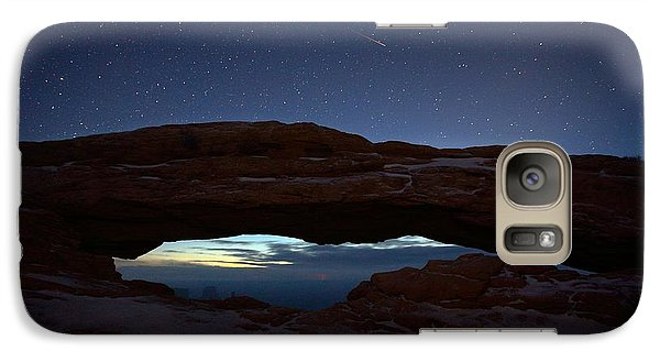 Galaxy Case featuring the photograph Over The Arch by David Andersen