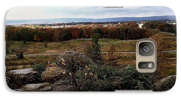 Galaxy Case featuring the photograph Over The Battle Field Of Gettysburg by Amazing Photographs AKA Christian Wilson