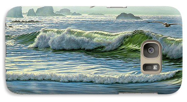 Pelican Galaxy S7 Case - Over The Curl by Paul Krapf