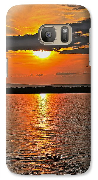 Galaxy Case featuring the photograph Over The Horizon - No.3474 by Joe Finney