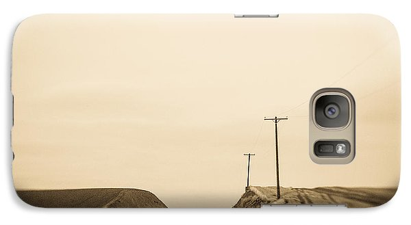 Galaxy Case featuring the photograph Over Yonder by Takeshi Okada