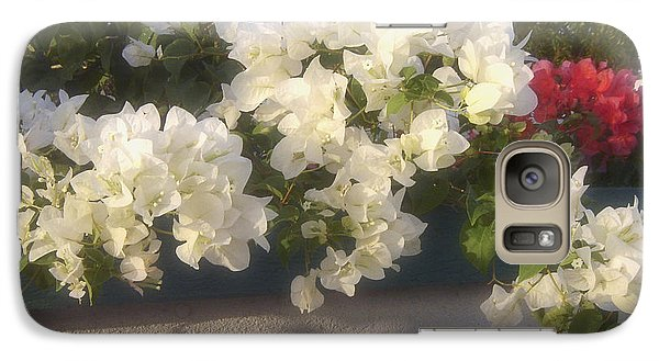 Galaxy Case featuring the photograph Overdene Gardens by Debi Dmytryshyn