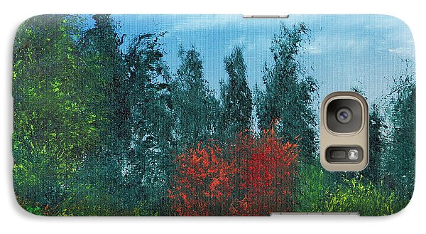 Galaxy Case featuring the painting Overgrown by Jennifer Muller
