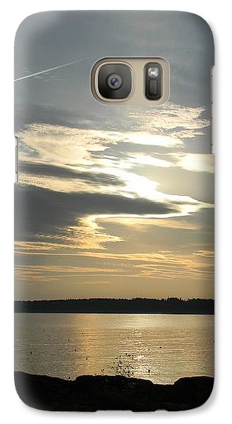 Galaxy Case featuring the photograph Overhead by Jean Goodwin Brooks