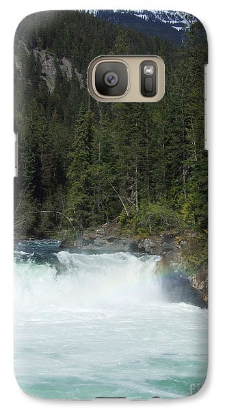 Galaxy Case featuring the photograph Overlander Falls - Fraser River by Phil Banks