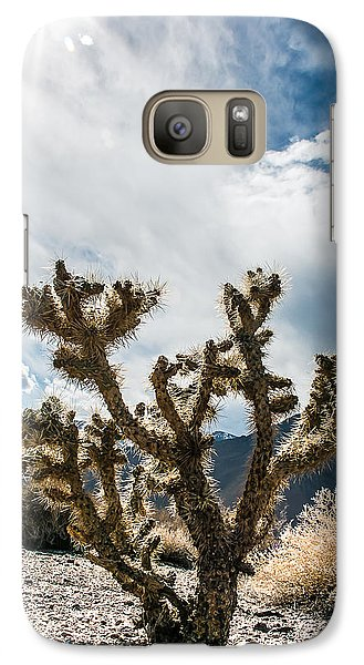 Galaxy Case featuring the photograph Owens Valley Cholla by Jan Davies