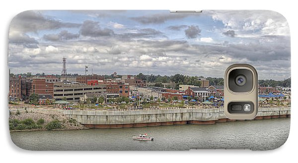 Galaxy Case featuring the photograph Owensboro Ky Riverfront by Wendell Thompson