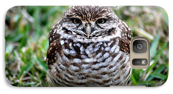 Galaxy Case featuring the photograph Owl. Best Photo by Oksana Semenchenko