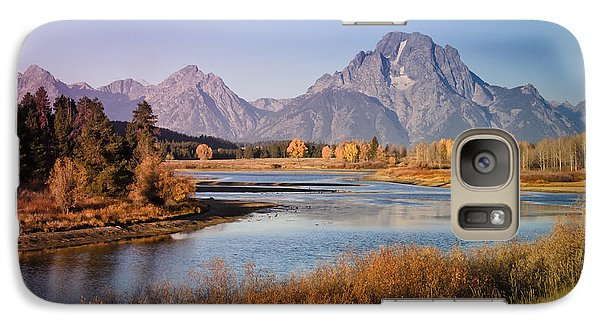 Galaxy Case featuring the photograph Oxbow Bend by Janis Knight