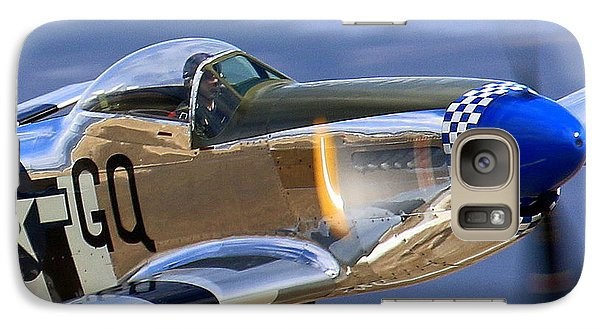 Grim Reaper P51 Mustang At Salinas Air Show Galaxy S7 Case