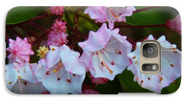 Galaxy Case featuring the photograph Pa State Flower by Jeanette Oberholtzer