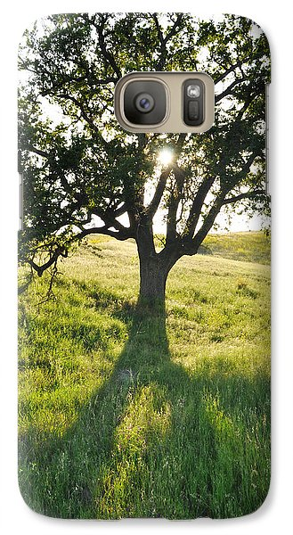 Galaxy Case featuring the photograph Pacific Coast Oak Malibu Creek by Kyle Hanson