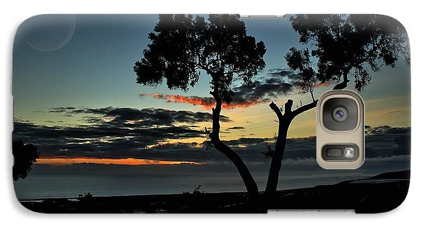 Galaxy Case featuring the photograph Pacific Evening by Michael Gordon