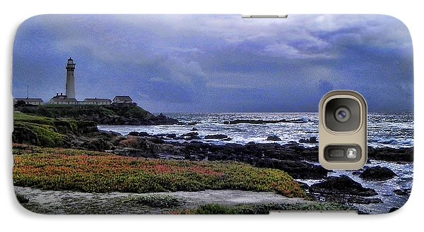 Galaxy Case featuring the photograph Pacific Lighthouse by Kathy Churchman