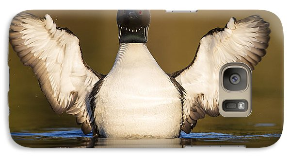 Pacific Loon Wing Flap Galaxy S7 Case by Tim Grams