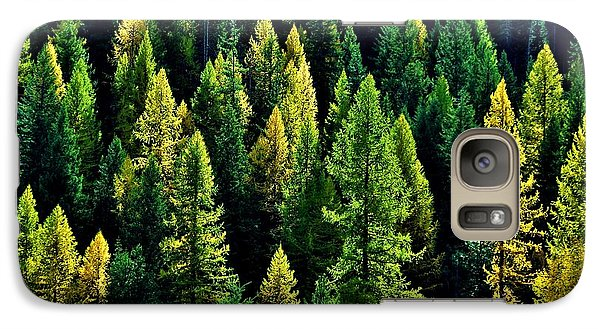 Galaxy Case featuring the photograph Pacific Northwest Autumn by Benjamin Yeager
