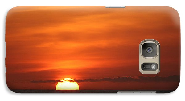 Galaxy Case featuring the photograph Pacific Nw Sunset by Jeanette French
