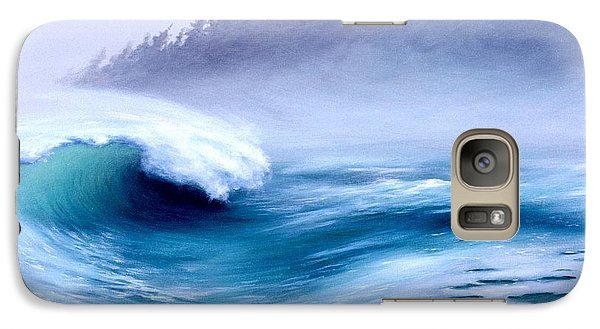 Galaxy Case featuring the painting Pacific Power  by Michael Swanson
