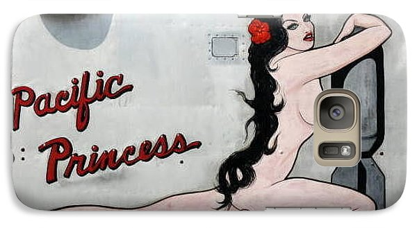 Galaxy Case featuring the photograph Pacific Princess by Kathy Barney