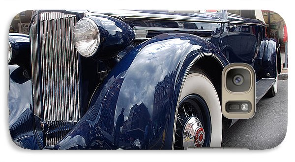 Galaxy Case featuring the photograph Packard 1207 Convertible 1935 by John Schneider
