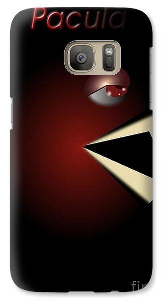 Galaxy Case featuring the digital art Pacula by R Muirhead Art