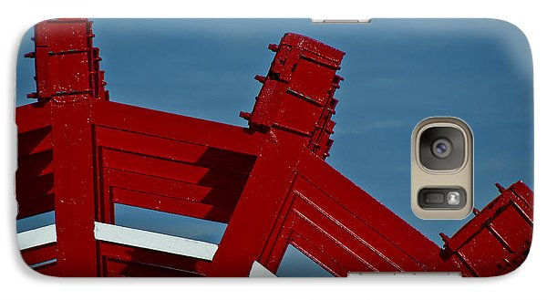 Galaxy Case featuring the photograph Paddle Wheel On The Mississippi River by Ray Devlin